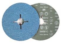 Фибровый шлифкруг 125х22 мм P36 3M 581С (61755) 3M
