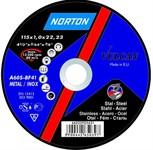 Круг отрезной 125х2.0x22.2 мм для металла Vulcan NORTON