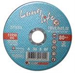 Круг отрезной 230х2.5x22.2 мм для металла Long Life LUGAABRASIV