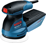 Эксцентриковая шлифмашина BOSCH GEX 125-1 AE (250 Вт, 125 мм, 15000--24000 кол/мин, регул. об.)