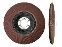 Круг лепестковый 125х22мм коничский КЛТ2, P24-P180
