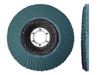 Круг лепестковый 125х22мм прямой ST КЛТ1, P40-P80