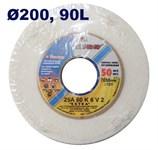 Круг шлифовальный прямой (ПП1) 200х20х32 25A 90 L 6 V 50 LUGAABRASIV