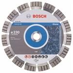 Алмазный круг 230х22,23 мм сегмент для бетона и камня (BOSCH)