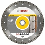 Алмазный круг 230х22,23 мм универсальный Professional Turbo (BOSCH)