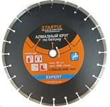 Алмазный круг 350х20/25.4 мм по бетону сегмент.(мокрая резка) EXPERT (STARTUL)