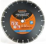 Алмазный круг 350х20/25.4 мм по асфальту сегмент.(мокрая резка) EXPERT (STARTUL)