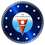 Алмазный круг 115х22 мм Turbo бетон 3 (Сплитстоун)