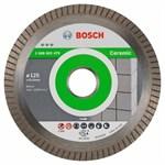 Алмазный круг 125х22,23 мм по керамике Best Turbo (BOSCH)