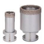 Алмазная коронка Dry Speed Best for Ceramic для сухого сверления, d 16-83 мм, BOSCH
