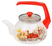 Чайник стальной эмалированный, 2.2 л, серия Любимая кухня