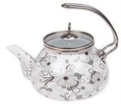 Чайник стальной эмалированный, 2.2 л, серия Надежда