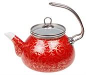 Чайник стальной эмалированный, 2.2 л, серия Страсть