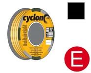 """Уплотнитель """"E"""" черный 150 м CYCLONE"""