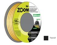 """Уплотнитель """"P"""" черный, 9х5,5 мм, 100 метров, ZOOM CLASSIC"""