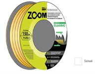 "Уплотнитель ""E"" белый, 9х4 мм, 150 метров, ZOOM CLASSIC"