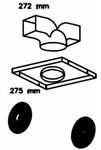 Комплект рециркуляции 1/D для кухонных вытяжек TEKA: к DS ISLA