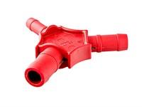 Калибратор для металлопластиковой трубы 16-20-26 с ножами для снятия фаски VALTEC