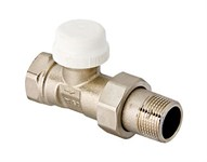 """Клапан термостатический для радиатора прямой 3/4"""" VALTEC"""