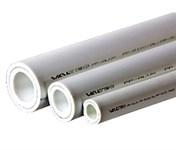 Труба полипропиленовая 32х5,4 мм PP-ALUX (PN25), армированная алюминием, белая, (1шт./4 м.п.) VALTEC