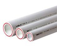 Труба полипропиленовая 20х2,8 мм PP-FIBER (PN20), армированная стекловолокном, белая (1шт./4 м.п.) VALTEC