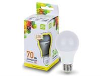 Лампа светодиодная A60 СТАНДАРТ 7 Вт 160-260В E27 3000К ASD (4690612001692)
