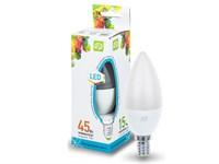 Лампа светодиодная C37 СВЕЧА 5 Вт 160-260В E14 4000К ASD (4690612002224)