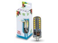 Лампа светодиодная JC 3 Вт 12В G4 4000К ASD (4690612004648)