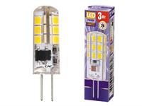 Лампа светодиодная JC 3 Вт POWER 220В G4 2700К JAZZWAY (1032041)