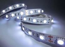 Лента светодиодная STN-5050/60 (5 м, холодный белый, большие светодиоды, IP20),  JAZZWAY