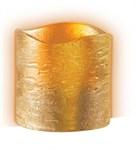 Свеча светодиодная CL4-E30 (золот.) JazzWay (из воска)