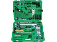 Набор слесарного инструмента в чемодане 150 предметов TOPTUL
