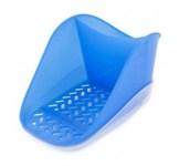 Подставка для моющего средства и губки Teo plus, пластмассовая, 104х127х181 мм, джинс