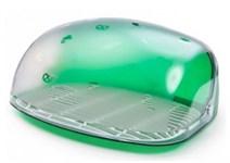 Хлебница Berossi, 300х363х170 мм, зеленый полупрозрачный