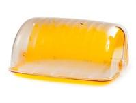 Хлебница Santi, 273х345х164 мм, оранжевый полупрозрачный