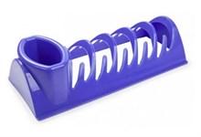 Сушилка для посуды Compakt, пластмассовая, 341х148х88 мм, лазурно-синий