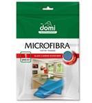Микрофибра для стекол и зеркал 1шт DOMI (размер 35*35см)