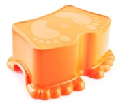 Подставка детская Ора, мандарин (32,2х3,9х13,1 см)