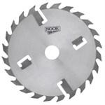 Дисковая пила NOOK 350x50 мм, 24+4 зуб. с подрезными ножами