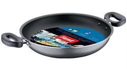 Сковорода двуручная 20х5 см для газовых плит, серия Magic, FEST
