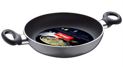 Сковорода двуручная 20х5 см для керамических, электрических и газовых плит, серия Magic, FEST