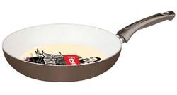 Сковорода 24х5 см для керамических, электрических и газовых плит, серия Bianca, FEST