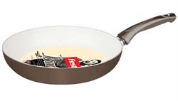 Сковорода 26х5 см для керамических, электрических и газовых плит, серия Bianca, FEST