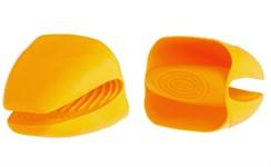 Прихватка силиконовая 10х9,5х8,5 см оранжевая PERFECTO LINEA
