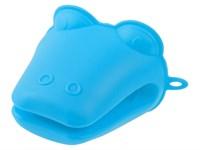 Прихватка силиконовая 9х10,5 см синяя PERFECTO LINEA