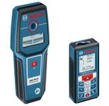 Дальномер лазерный BOSCH GLM 80 + GMS 100 в кор. (0.05 - 80 м, +/- 2 мм, IP 54, детектор)
