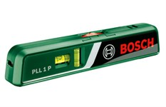 Нивелир лазерный BOSCH PLL 1 P с держателем в блистере (проекция: луч, точка, до 20 м, +/- 10 мм)