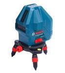 """Нивелир лазерный линейный BOSCH GLL 3-15 X (проекция: 3 плоскости 360°, до 15 м, +/- 3 мм, резьба 5/8"""")"""