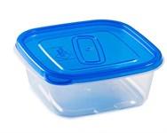 Контейнер пластиковый квадратный для пищевых продуктов, 450 мл, серия One Touch, Good&Good
