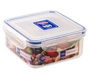 Контейнер пластиковый квадратный для пищевых продуктов,  0,9 л, Good&Good